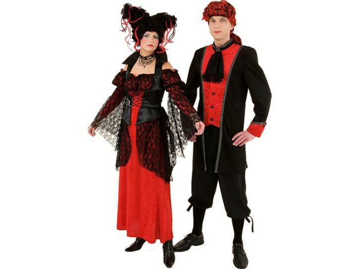Kostüm Kleid Vampir Lady Gr.36