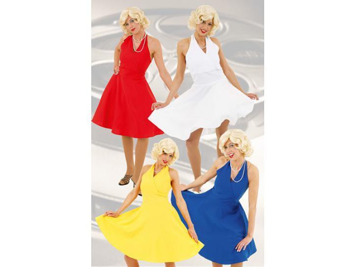 Kostüm Marilyn Kleid weiß Gr.44