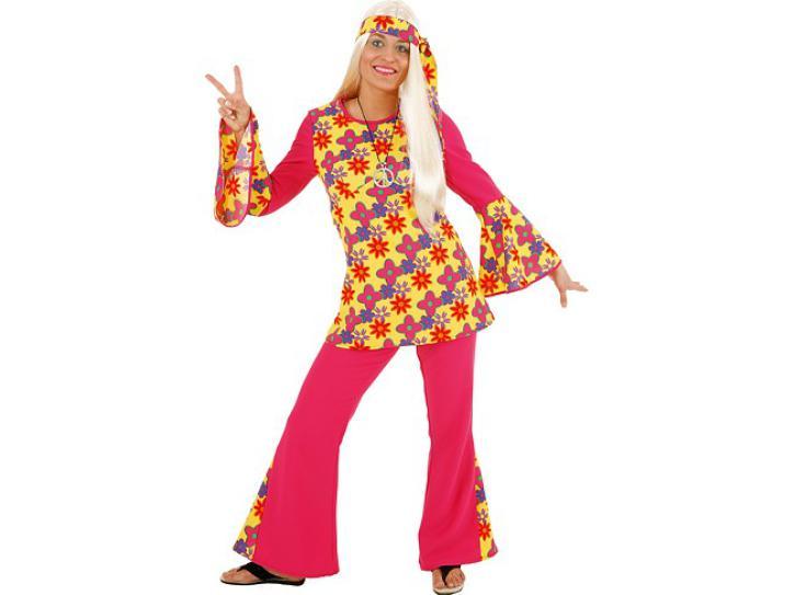 Kostüm Hippie Mädchen Gr.36