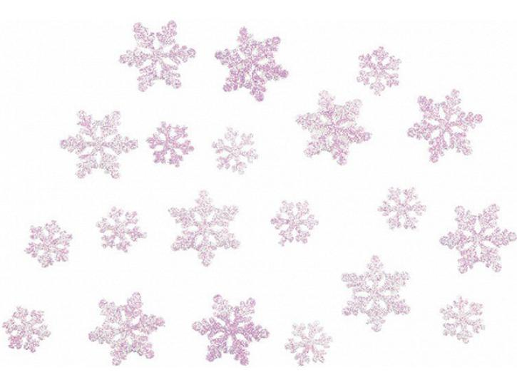 Konfetti Schneeflocke Frozen Eiskönigin