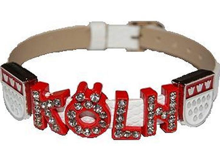 Armband dünn weiß Köln