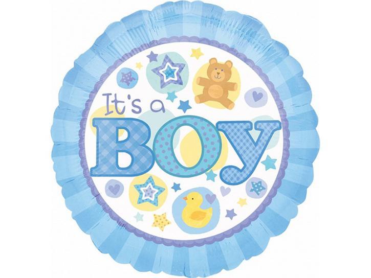 Folienballon It´s a Boy blau