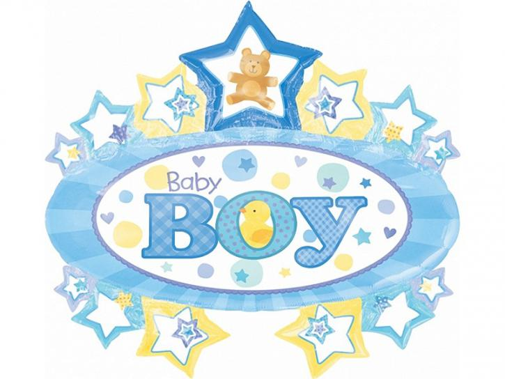 Folienballon Baby Boy