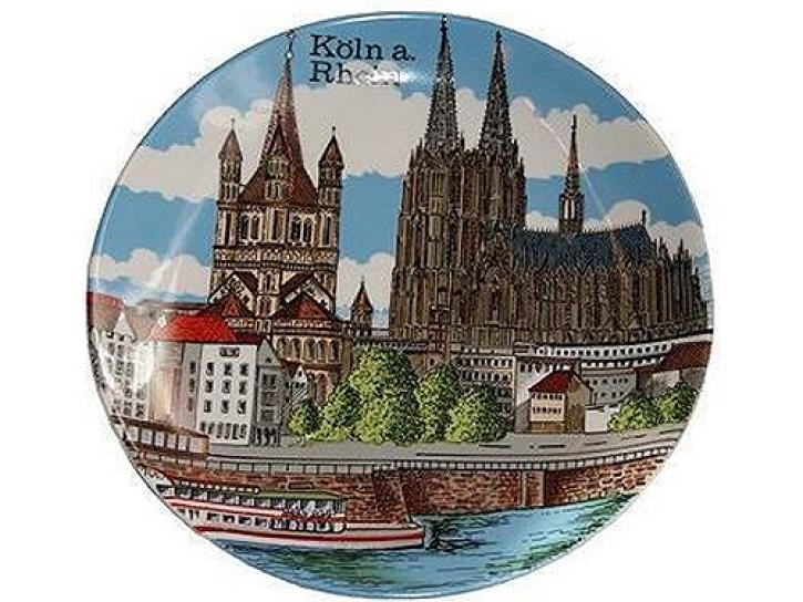 Teller Altstadt Köln 19 cm