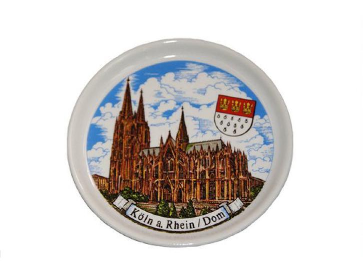 Teller Untersetzer Kölner Dom 9.5 cm