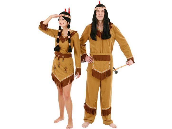 Kostüm Arapacho Indianerin Gr.36
