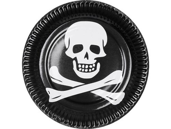 Pappteller Pirat 6 Stück