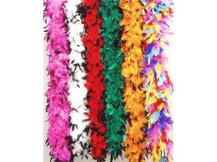 Federboa multicolor 180 cm