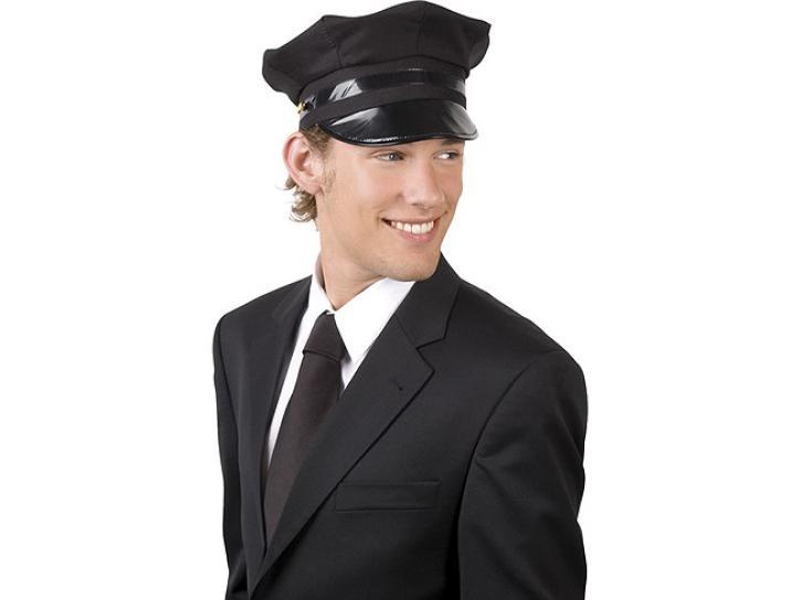 Mütze Fahrer schwarz