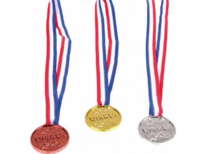 Medaillen Winner 3 Stk.