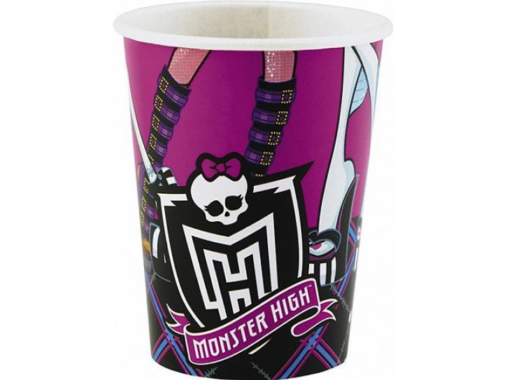 Becher Monster High 8 Stk.