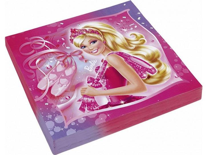 Servietten Barbie 20 Stk.