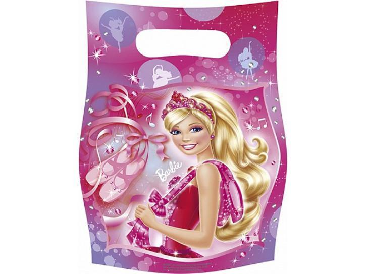 Partytüten Barbie 6 Stk.
