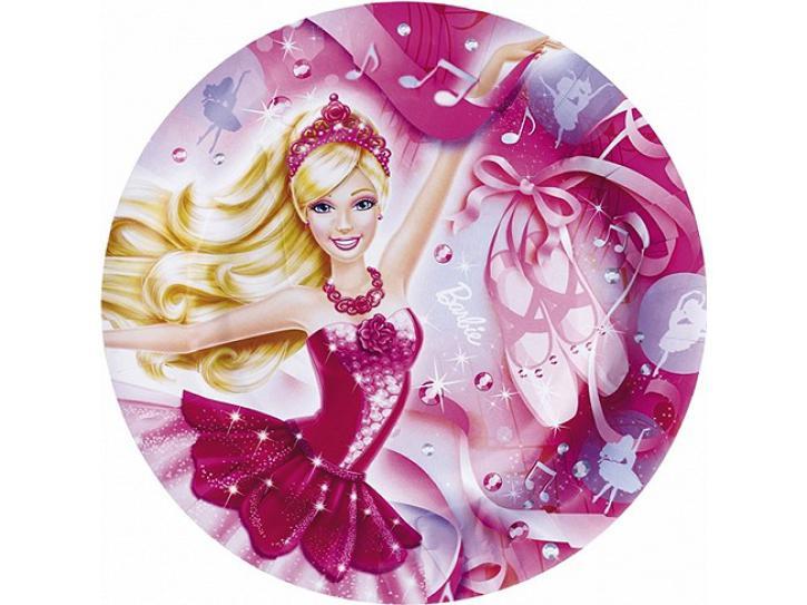 Teller Barbie 8 Stk.