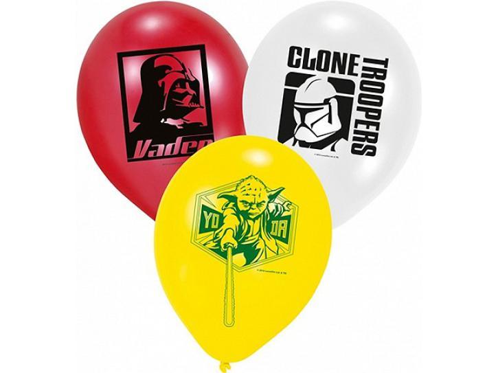 Luftballon Star Wars 6 Stk.