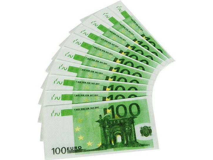 Servietten 100 Euro 10 Stk.