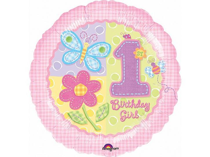 Folienballon Birthday Girl  1 45cm