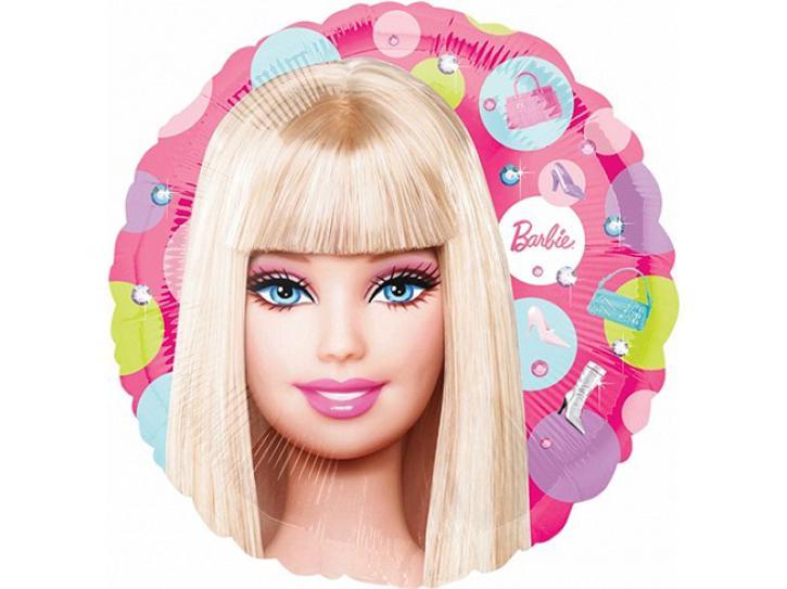 Folienballon Barbie 45cm
