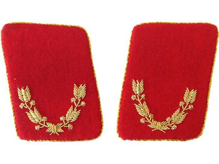 Kragenspiegel Leutnant gold