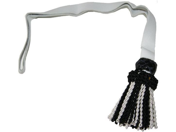 Faustriemen schwarz/weiß