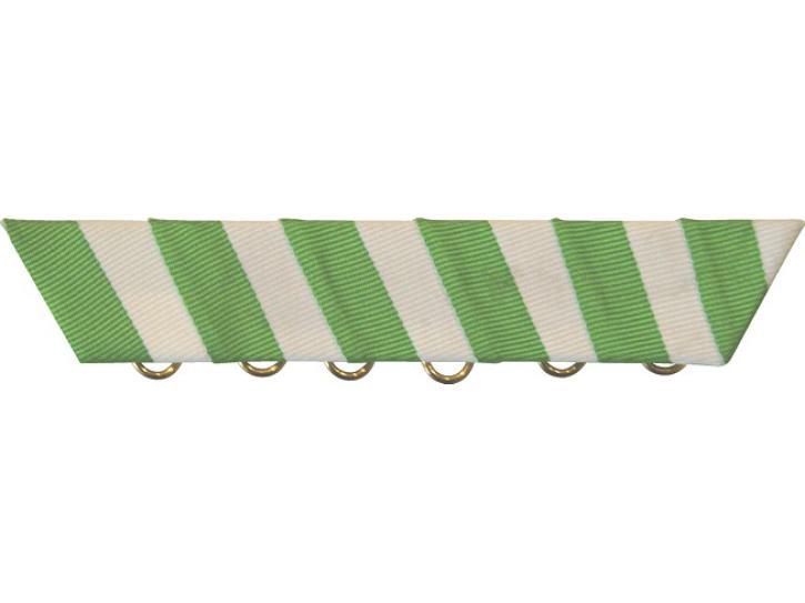 Feldblech Halterung grün/weiß