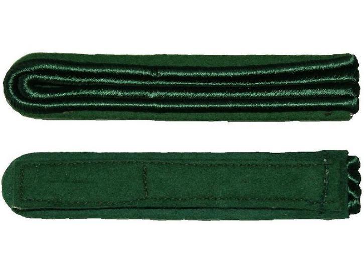 Schulterstücke grün 2 Streifen