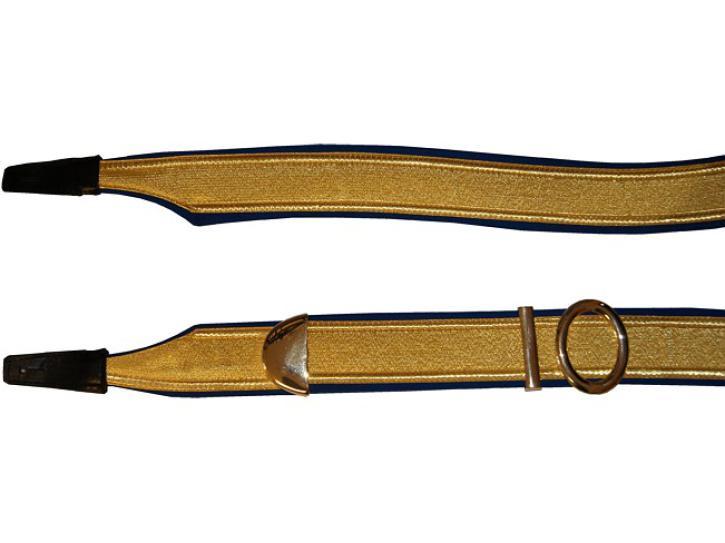 Bandoliere  170 - 195 cm  blau/gold