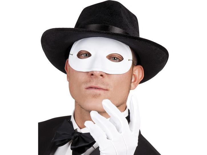 Augenmaske weiß