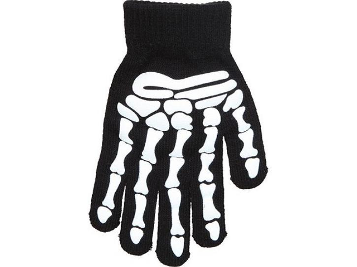 Handschuhe Skelett für Erwachsene
