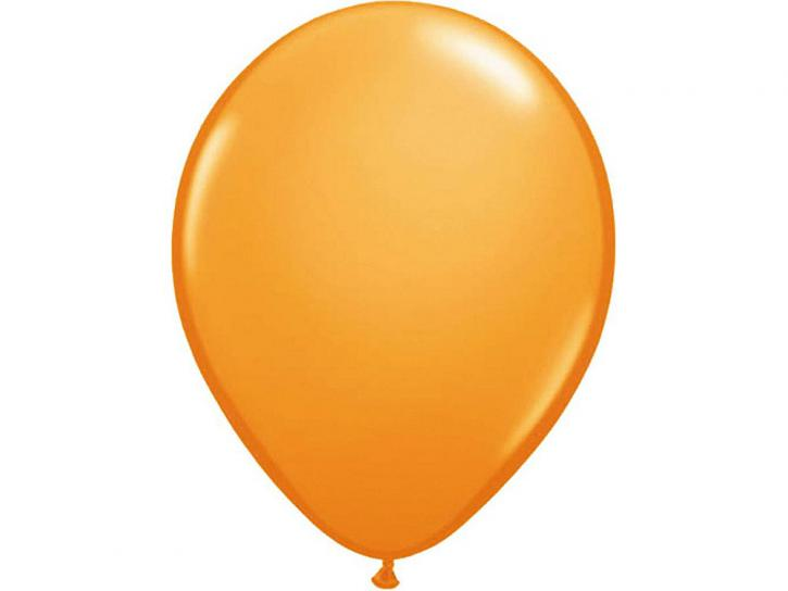 Luftballon orange 100 Stk.