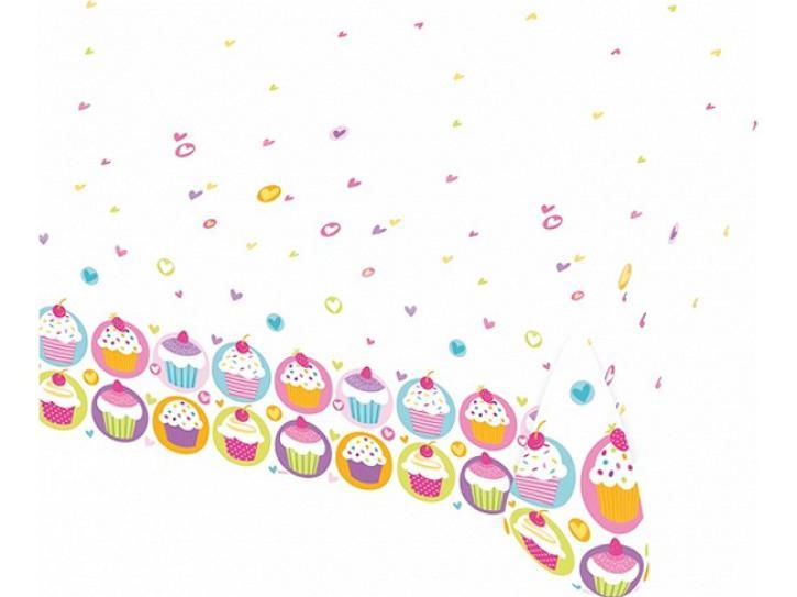 Tischdecke Cupcake Muffin Party