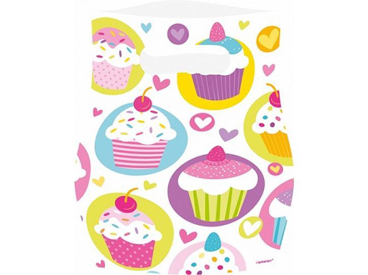 Partytüte Cupcake 6 Stk.