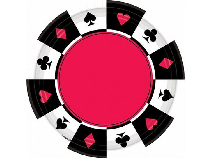 Teller Casino Poker 8 Stk.