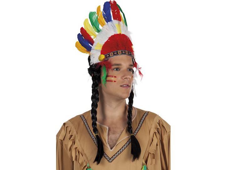 Indianer Kopfschmuck Cherokee