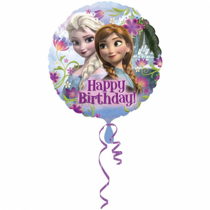 Folienballon Eiskönigin Happy Birthday 43 cm