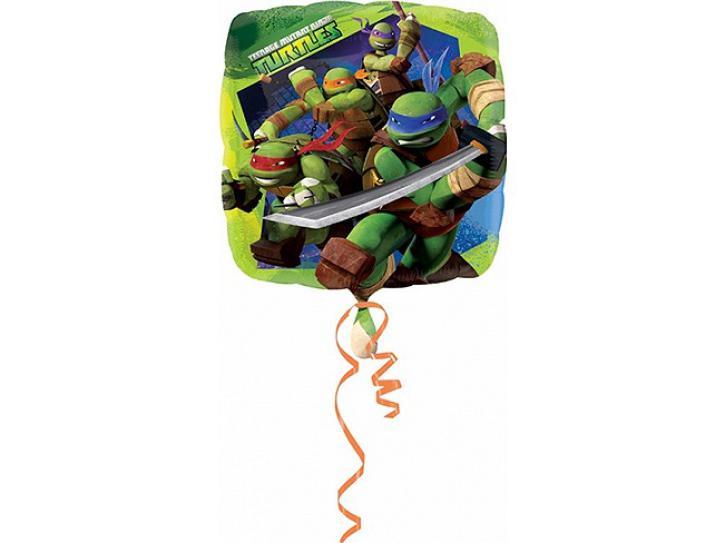 Folienballon Ninja Turtles 45 cm.