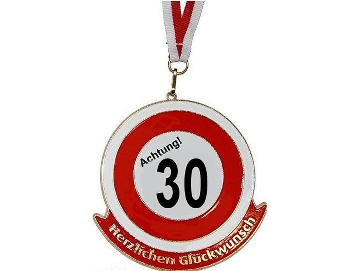 Orden Achtung 30 Herzlichen Glückwunsch
