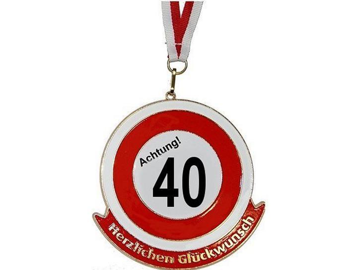 Orden Achtung 40 Herzlichen Glückwunsch