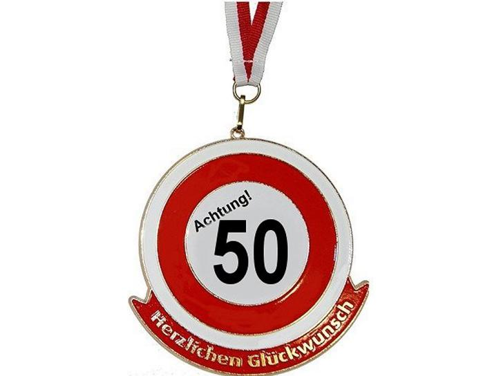 Orden Achtung 50 Herzlichen Glückwunsch