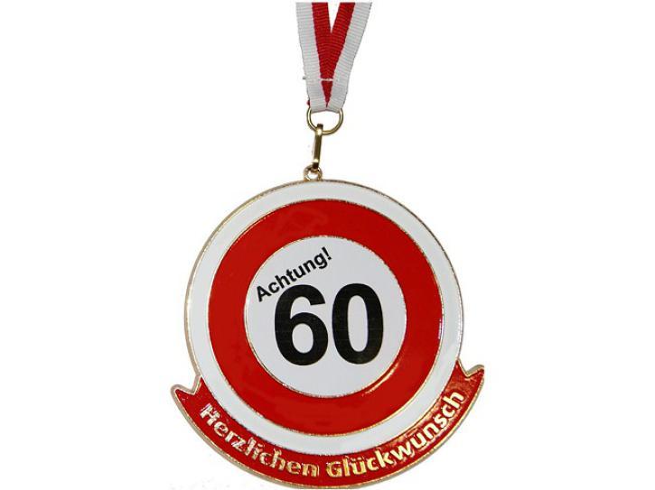 Orden Achtung 60 Herzlichen Glückwunsch