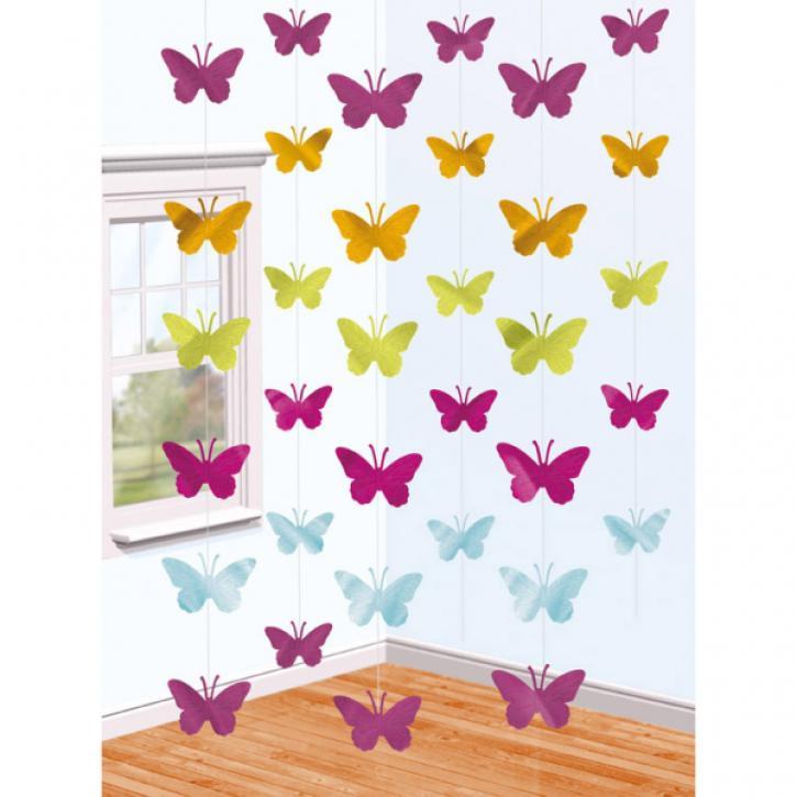 Dekoration Strings Schmetterling