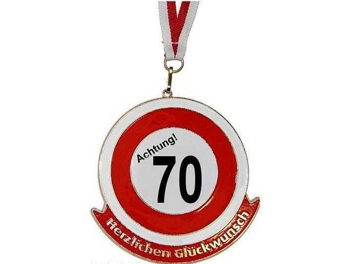 Orden Achtung 70 Herzlichen Glückwunsch