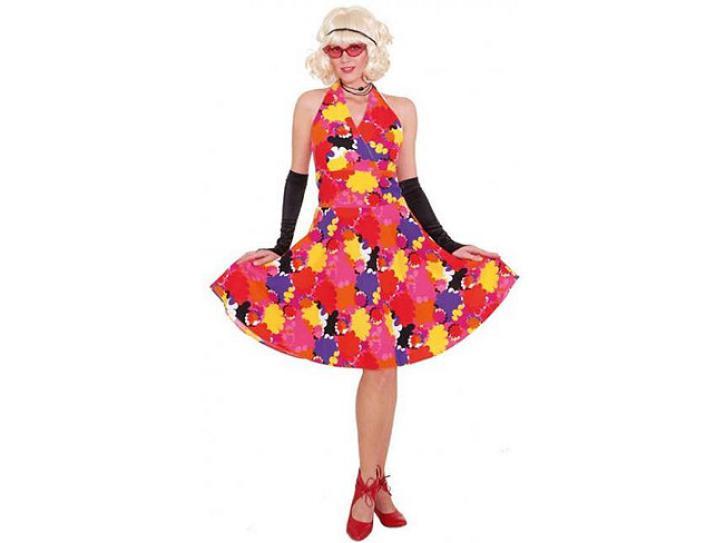Kleid mit Blumen Gr.36