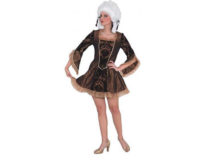 Kostüm Baronesse braun Gr.36