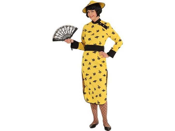 Kostüm China Woman Gr.42