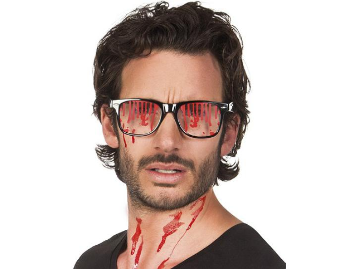 Brille Blut