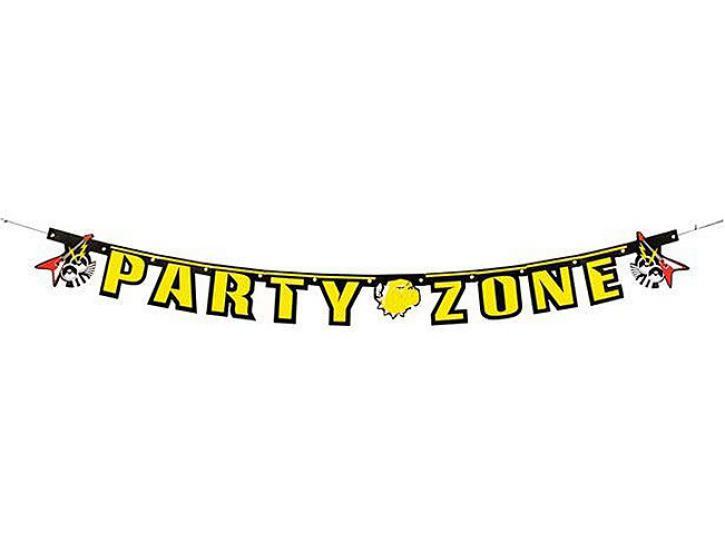 Girlande Party Zone