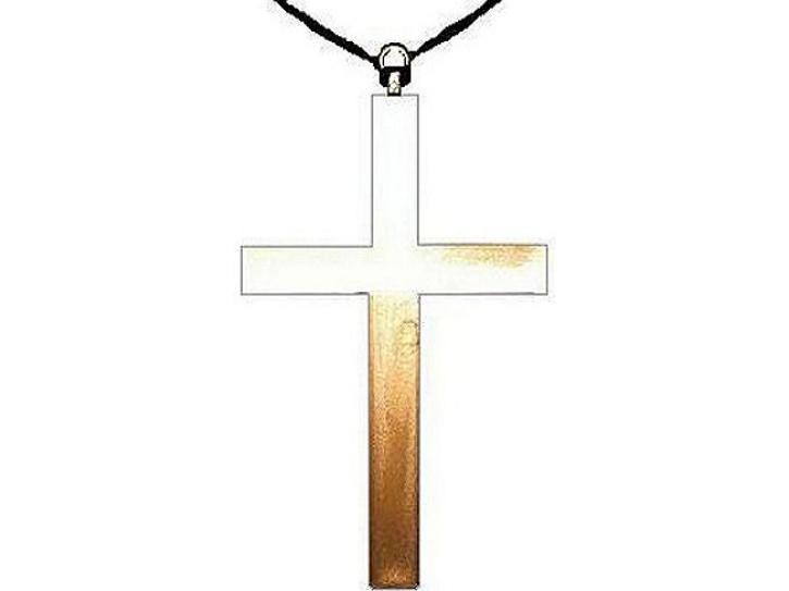 Kette Kreuz Priester 24cm