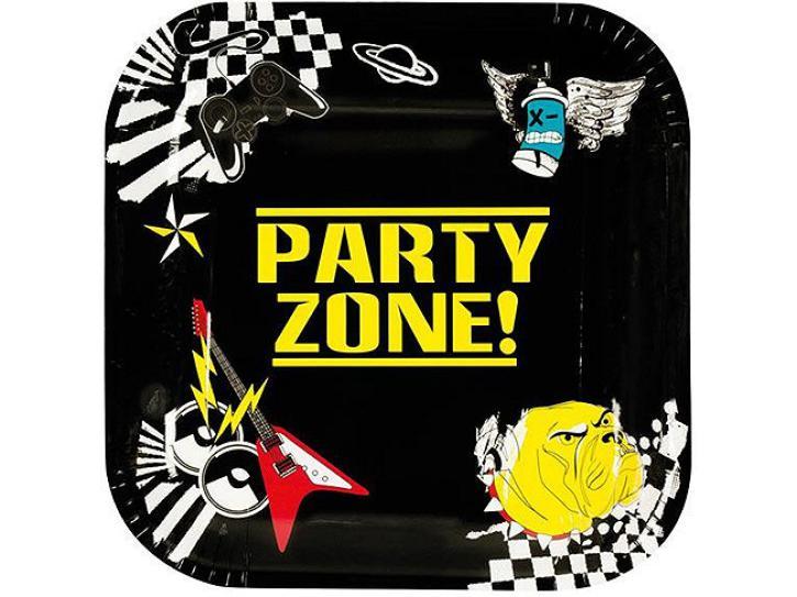 Teller Party Zone 6 Stück