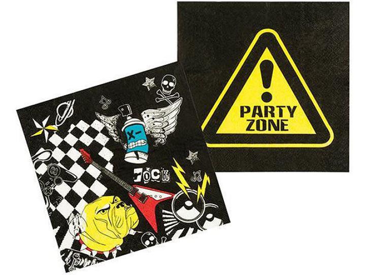 Servietten Party Zone 12 Stück